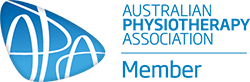Australian Physiotherapy Association Member logo - IceFire Physiotherapy